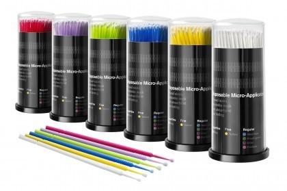 micro applicatori microbrush pennellini:regular, fine e superfine