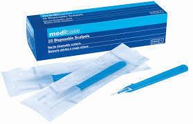 bisturi sterili misura 15